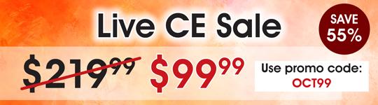 October Webcast Sale